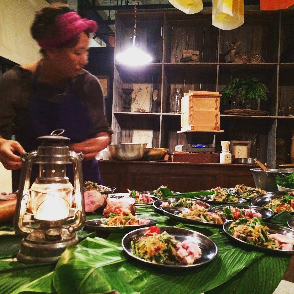 錦カフェ Closing Party 「旅するレストラン」3/21(月)